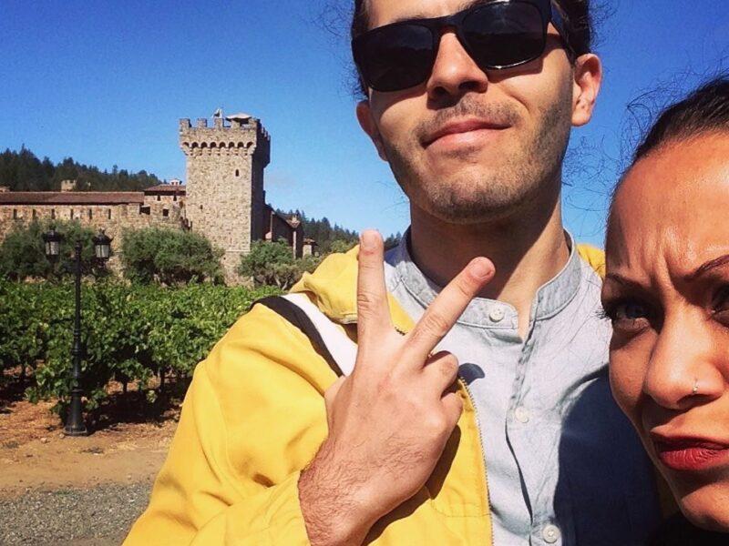 First day at Castello di Amorosa in Calistoga