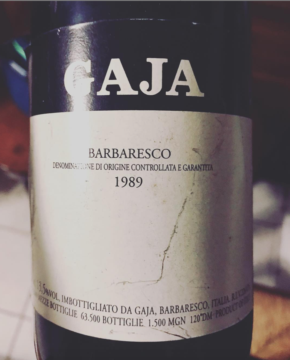 The vines of San Lorenzo, Gaja winery