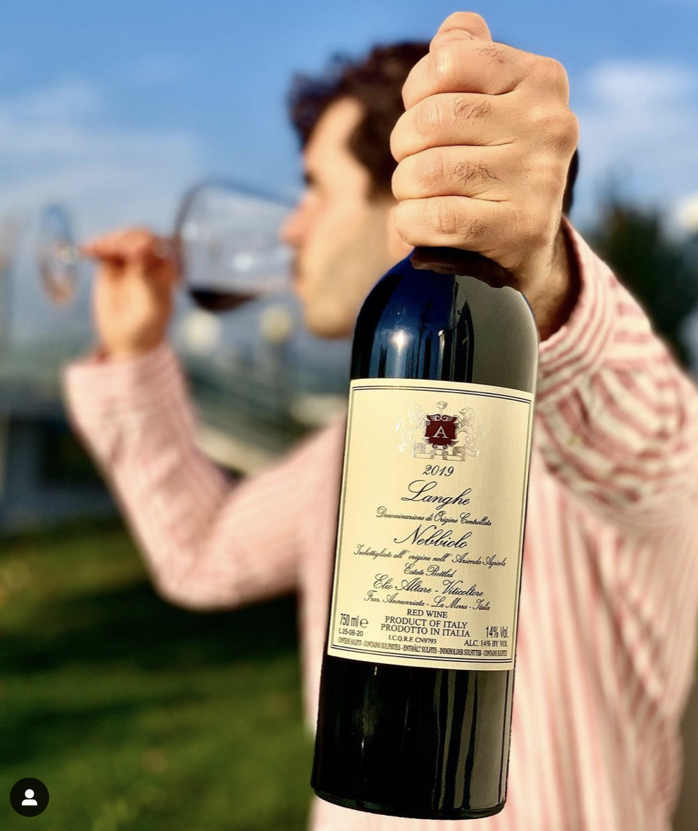From our Wine Club shipment – Elio Altare